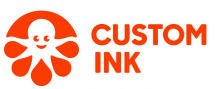 custom ink logo - red octopus